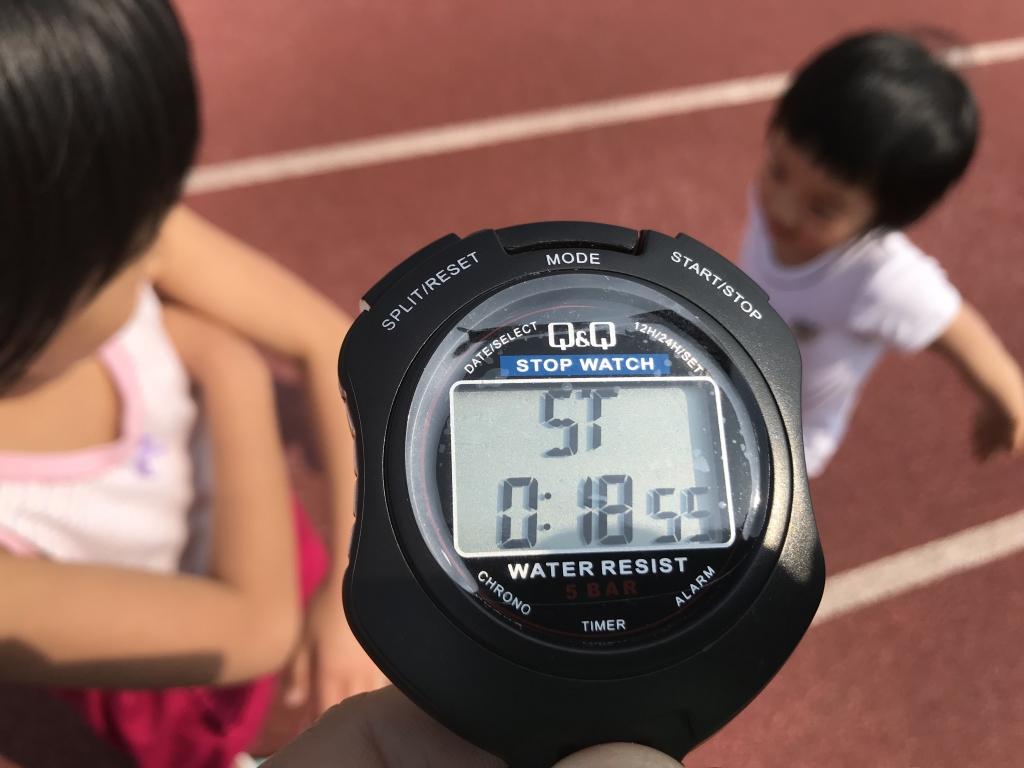 走 小学生 メートル 50